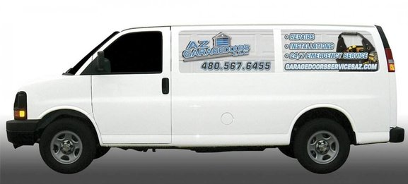 AZGarage Doors LLC Service Van