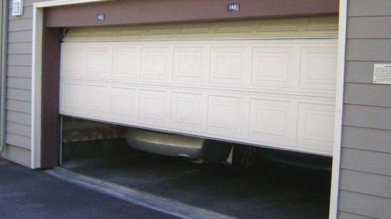 Noisy Garage Door or Rusted Track